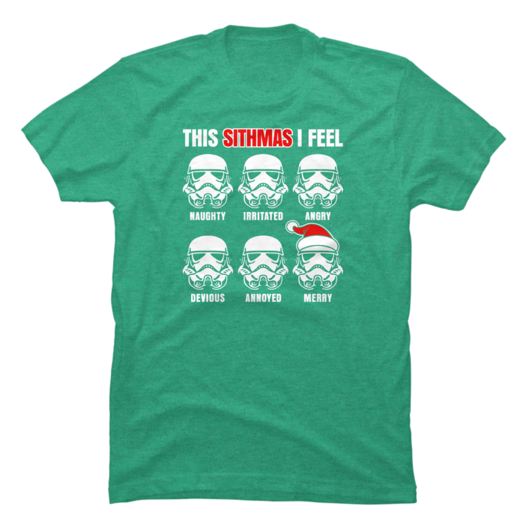 Trooper Sithmas - Star Wars Christmas T-Shirts
