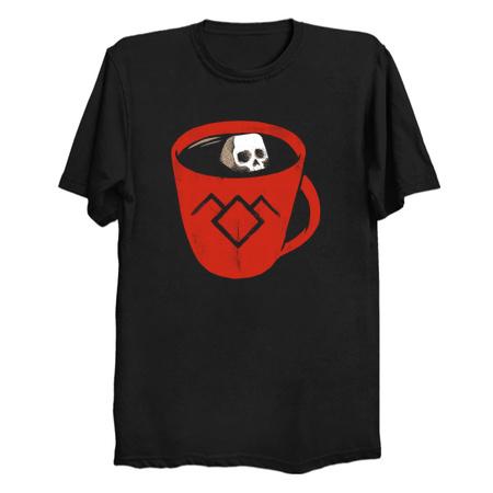 Black coffee - Twin Peaks T-Shirts
