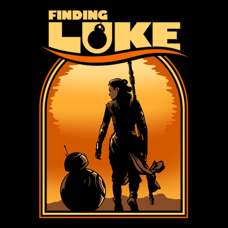 Finding Knight - Funny Star Wars T-Shirt