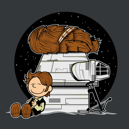 HAN BROWN - Funny Star Wars T-Shirt