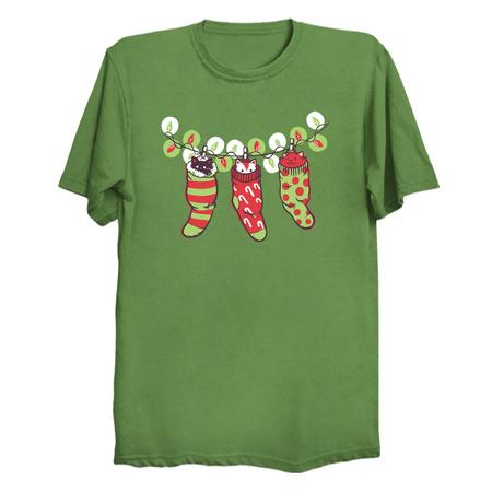 Jingle Meow - Christmas Cat T-Shirt