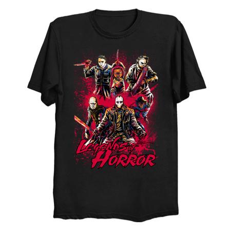 LEGENDS OF HORROR - Horror T-Shirts