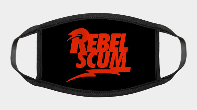 Rebel Scum oh no! Face Mask