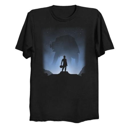 Rebel vs Empire - Luke Skywalker T-Shirt