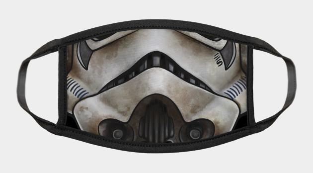 Sandtrooper Helmet - Pop Culture Face Mask
